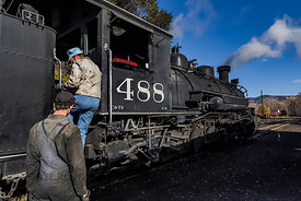 Locomotive Maintenance on Cumbres & Toltec Scenic Railroad