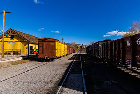 Cumbres & Toltec Scenic Railroad in New Mexico