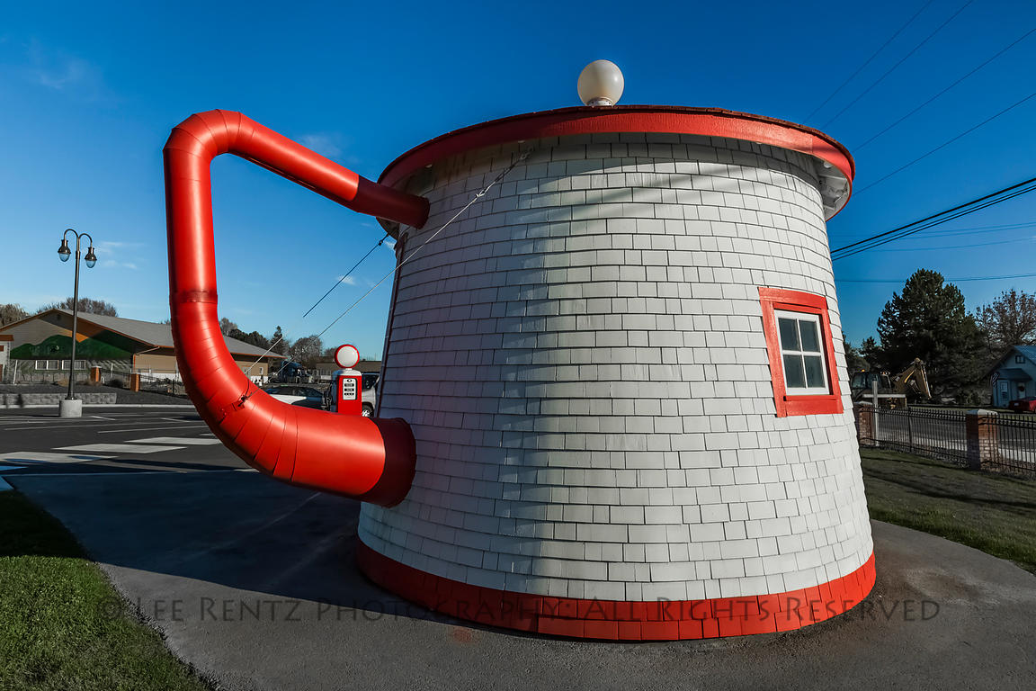 Teapot Dome Service Station in Washington State
