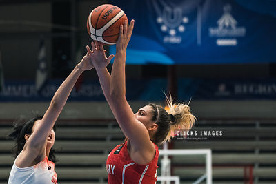 Women Basketball: Japan vs Hungary -  - 2019 Summer Universiade