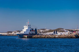 Ferry Arriving at Burgeo, Newfoundland