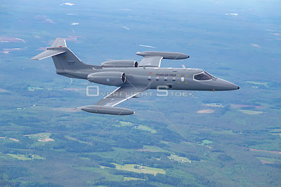 Learjet 35 - Finland Air to Air