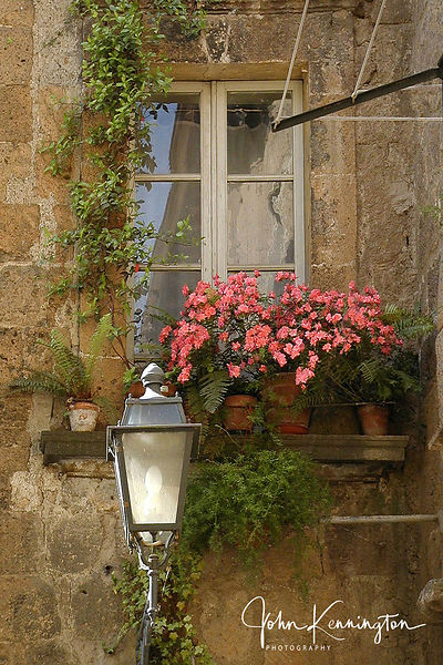 Orvieto Window, Orvieto, Italy