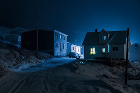 Houses in Dunfield, Newfoundland