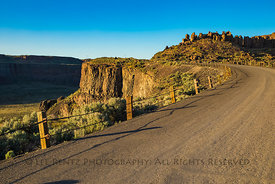 Historic U.S. Route 10 in Frenchman Coulee, Washington
