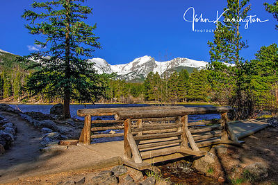 Sprague Lake Bridge, Rocky Mountain National Park, Colorado