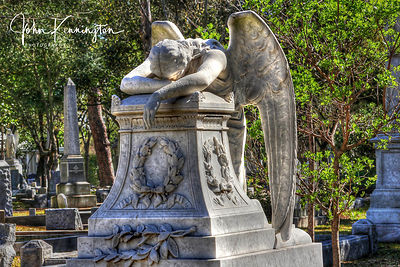 Angel in Grief, Houston, Texas