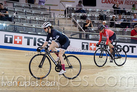 U17 Women Sprint 1/2 Final. 2020 Ontario Track Championships, March 8, 2020