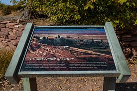 Interpretive Sign in Pipe Spring National Monument