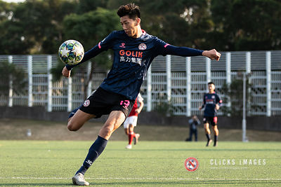 Hong Kong Football League 1st Division	- SOUTH CHINA VS GOLIK NORTH DISTRICT on January 12, 2020. Photo by Ming So/Golik Nort...