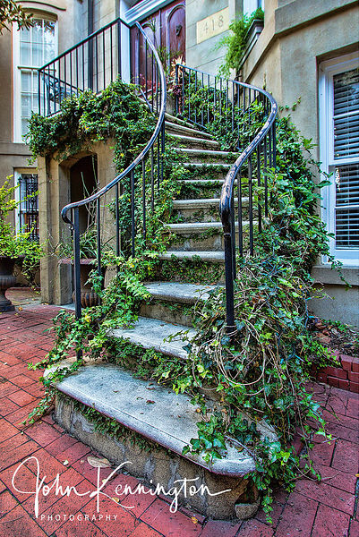 Savannah Steps, Savannah, Georgia