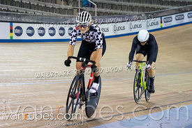 Women Sprint 1/2 Final. 2020 Ontario Track Championships, March 8, 2020