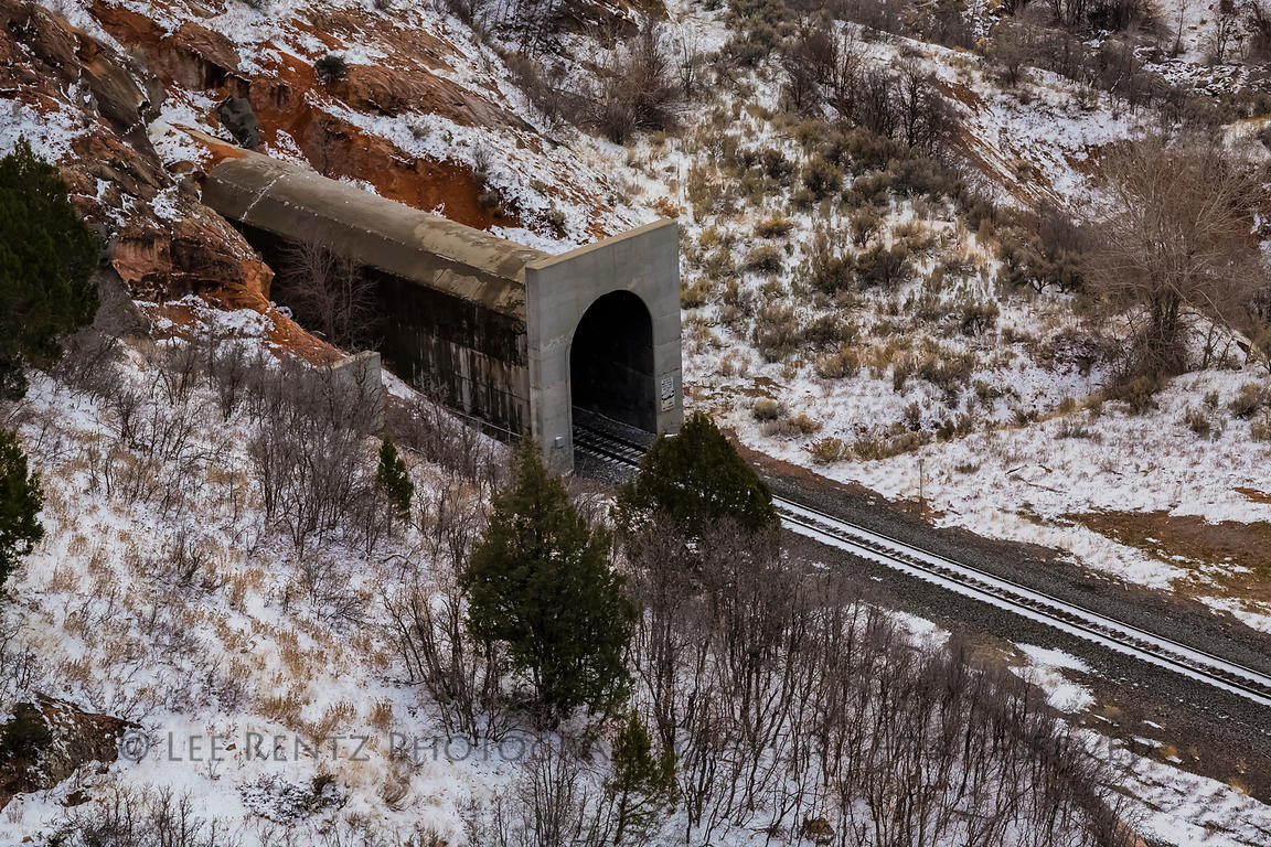 Thistle Tunnel in Spanish Fork Canyon, Utah