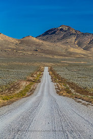 Gravel Ranch Road in Nevada