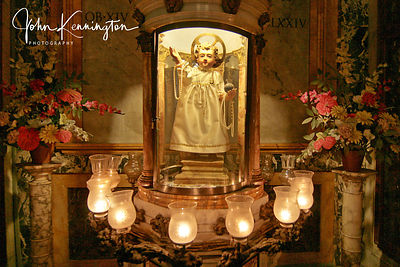 Shrine at Sant Andrea della Valle, Rome, Italy