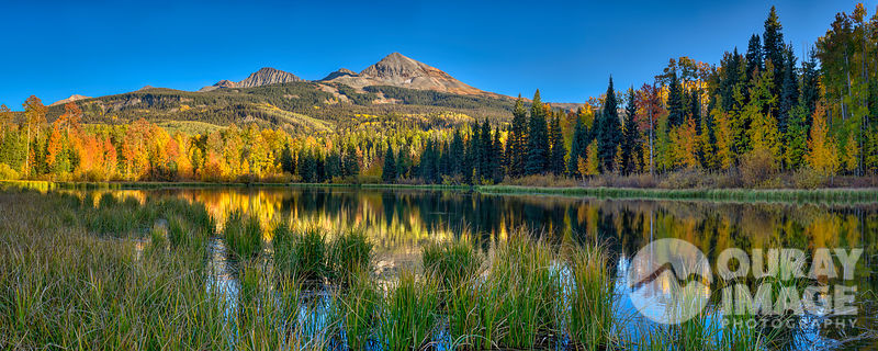 Woods Lake, Telluride - Print as large as 10 x4 feet