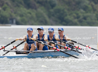 Taken during the NZNI Championships 2020, Lake Karapiro, Cambridge, New Zealand; ©  Rob Bristow; Frame 5922 - Taken on: Frida...