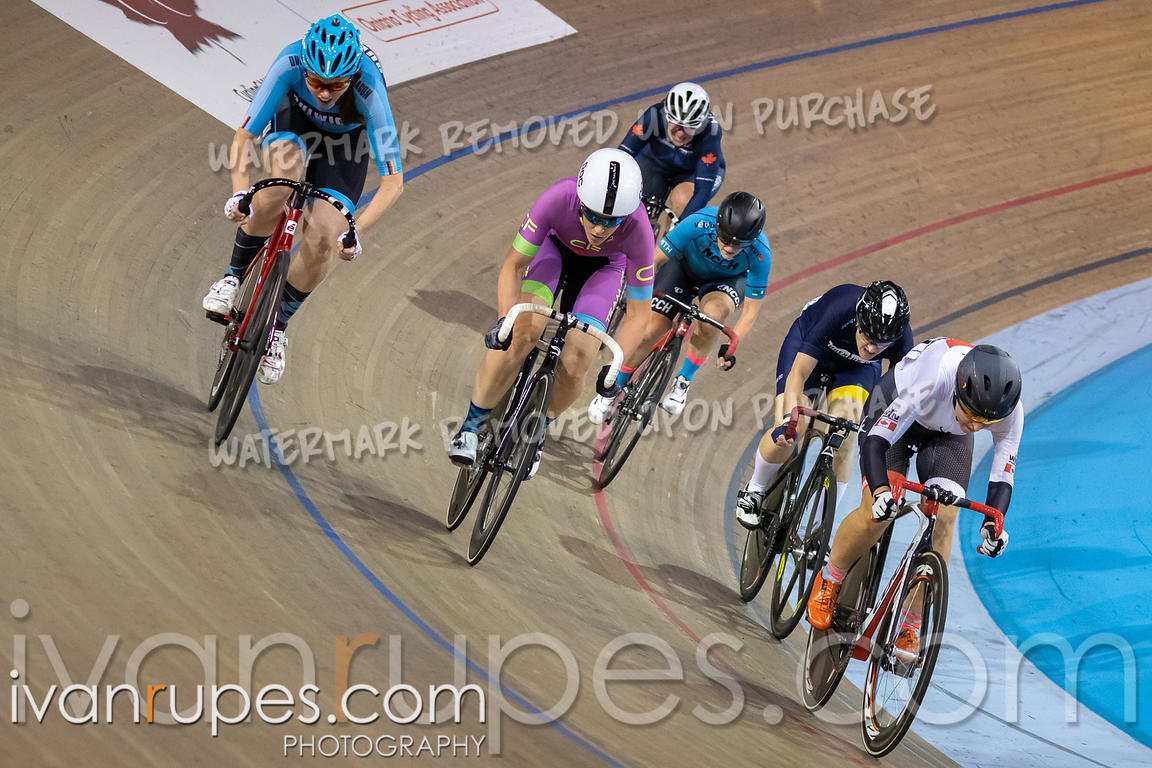 Master Women Points Race. Canadian Track Championships, September 26, 2019