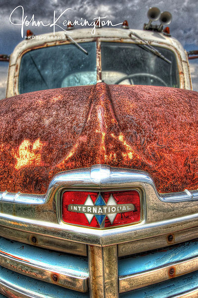 International KB-11, Route 66, Moriarty, New Mexico