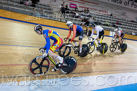 Cat A-B Keirin 1-6 Final. Track O-Cup #2, January 12, 2020