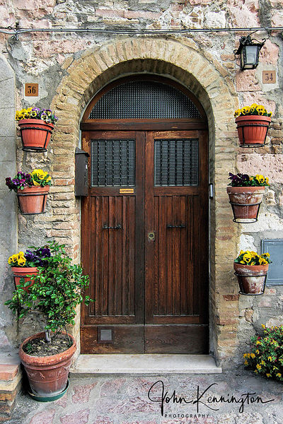 Assisi Door No. 2, Assisi, Italy