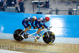 Men Tandem Time Trial. 2020 UCI Para-Cycling Track World Championships, Day 3 Afternoon Session, February 1, 2020