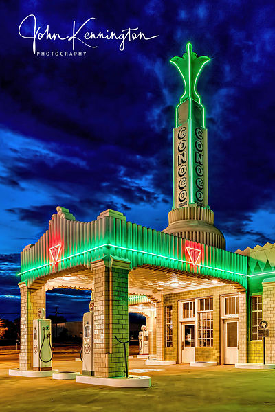 Conoco Tower, Route 66, Shamrock, Texas