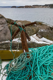 Anchor Ropes for Fishing Boat in Newfoundland