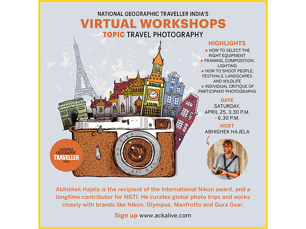 National Geographic Virtual Workshop, May 2020