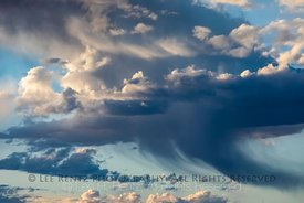 Clouds and Virga over the Minnesota Prairie