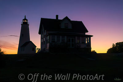 Sunrise Lighthouse Keepers House