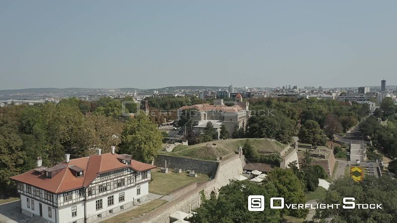Drone Video Belgrade Fortess Serbia