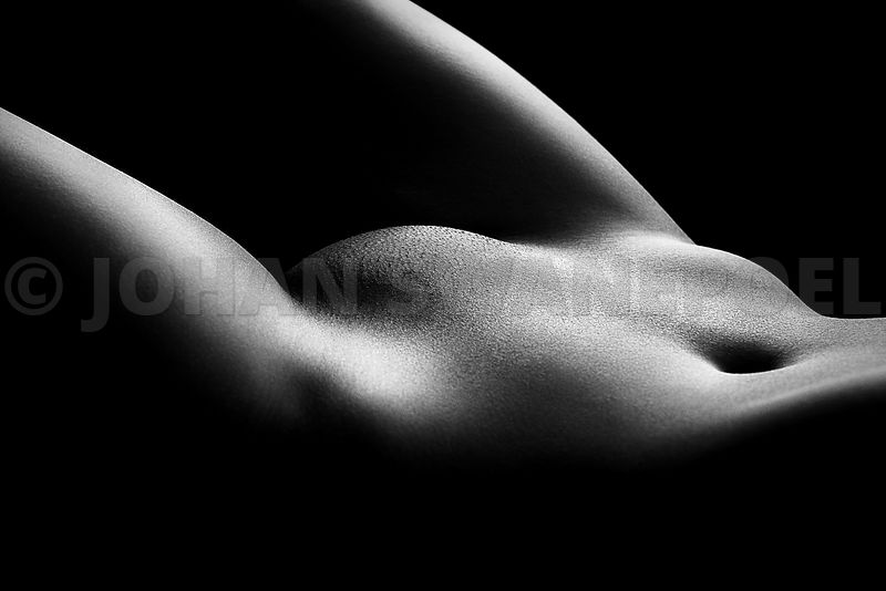 Nude woman bodyscape 36