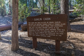 Gamlin Cabin in Grant Grove in Kings Canyon National Park