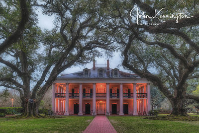 Dawn at Oak Alley Plantation, Vacherie, Louisiana