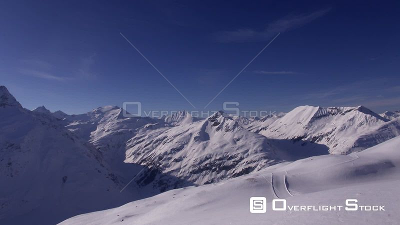 Gasteinertal in the Hohe Tauern in Winter