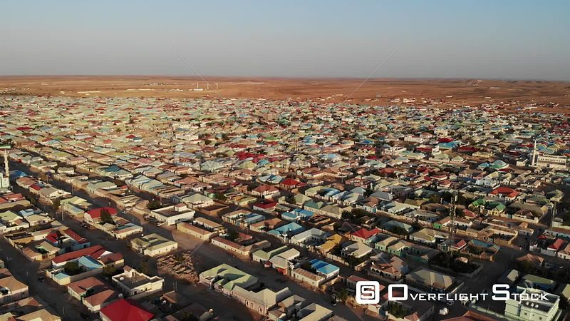 Drone Video Of Garowe Capital of Puntland Somalia