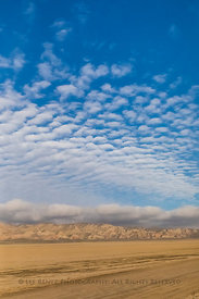 Desert and Sky along the Cuyama Highway in California