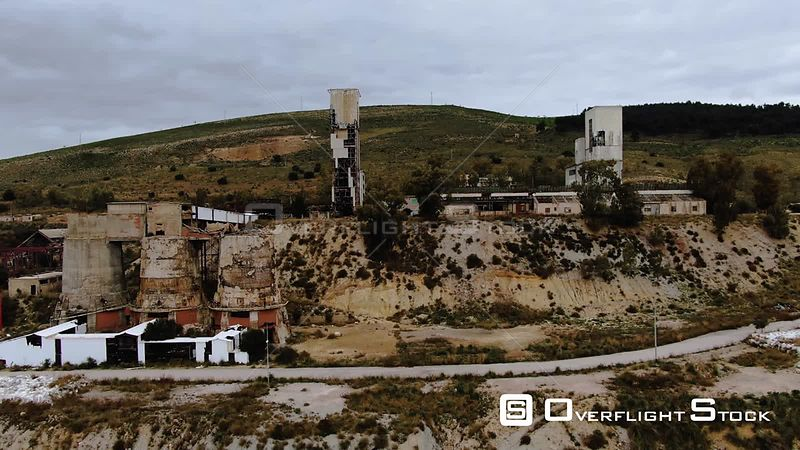 An Abandoned Industrial Mining Plant in Sicily