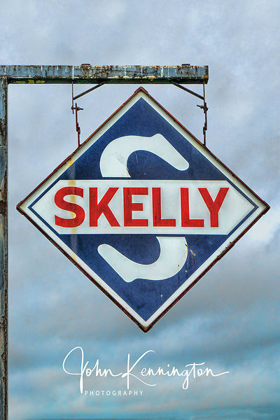 Skelly Oil Sign, Bobs Gasoline Alley, Route 66, Cuba, Missouri