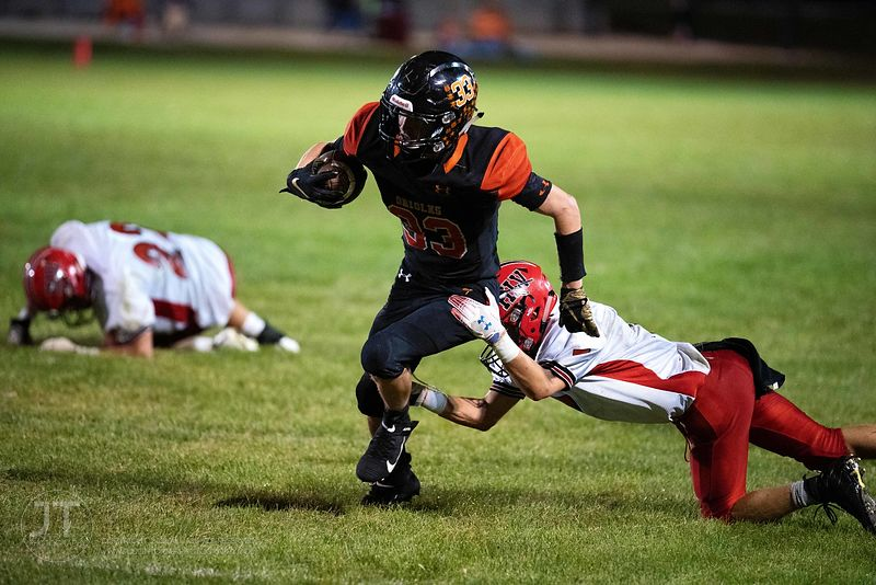 Gazette - IAHSFB HLV vs Springville Sept 6, 2019