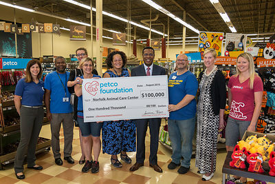 Petco Foundation Award NACC