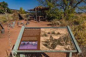 Interpretive Sign about Paiutes in Pipe Spring National Monument