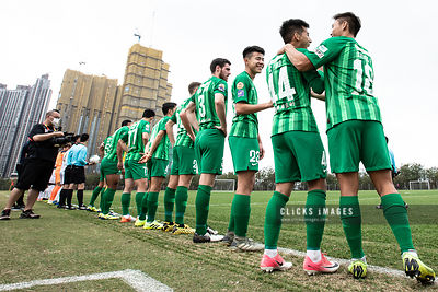 Hong Kong Football Sapling Cup Group B - R&F VS WOFOO TAI PO on February 25, 2020. Photo by Ming So/Clicks Images