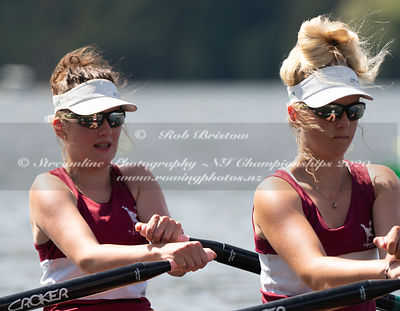 Taken during the NZNI Championships 2020, Lake Karapiro, Cambridge, New Zealand; ©  Rob Bristow; Frame 6075 - Taken on: Frida...