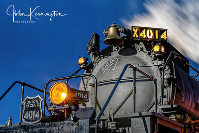 Big Boy Union Pacific #4014 Smoke Box, Coffeyville, Kansas