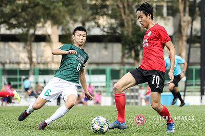 Hong Kong Football League 1st Division	- GOLIK NORTH DISTRICT VS SHAM SHUI PO on October 20, 2019. Photo by Ming So/Golik Nor...