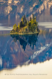 The Phantom Ship in Crater Lake National Park in Oregon