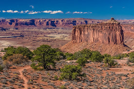 Murphy Point Trail in Canyonlands National Park