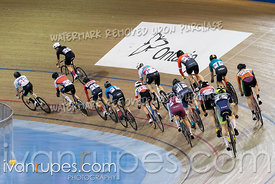 Cat B2 Points Race. Track O-Cup #2, January 12, 2020